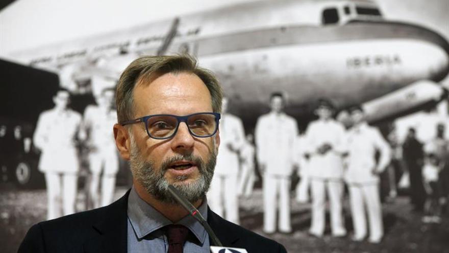 Iberia celebra 70 años de vuelos a Latinoamérica con una exposición en Madrid