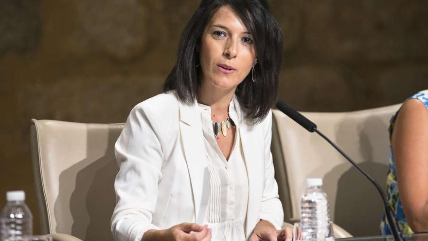Consejera de Educación y Empleo de Extremadura, Esther Gutiérrez Morán / GobEx