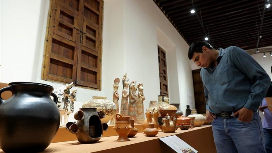Exposición en México dibuja mapa de la tradición artesanal de Iberoamérica