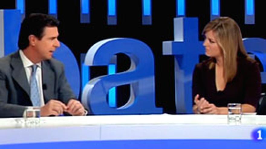 """La 'marcha negra' y el tijeretazo doblan la audiencia del """"Debate de La 1"""" (13%)"""