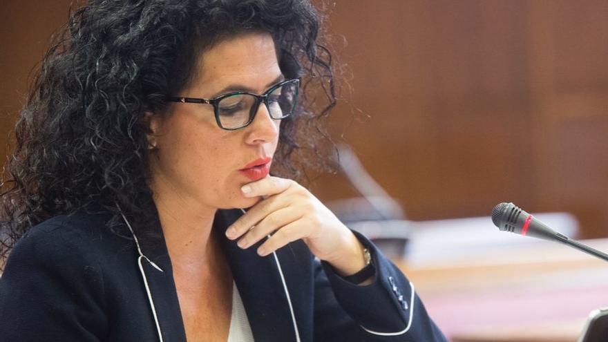 La diputada de Adelante Andalucía Maribel Mora en una foto de archivo