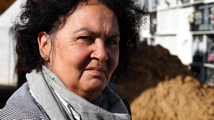 Mercedes Gómez, familiar de Frasquita la Charamusca. | JUAN MIGUEL BAQUERO