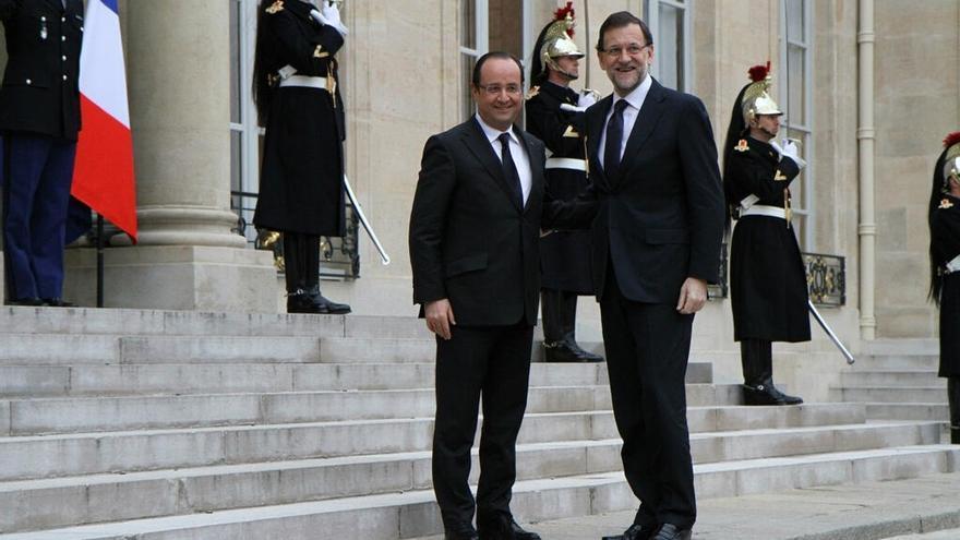 Rajoy y Hollande volverán a escenificar en París el 28 de mayo su apuesta por la unión bancaria