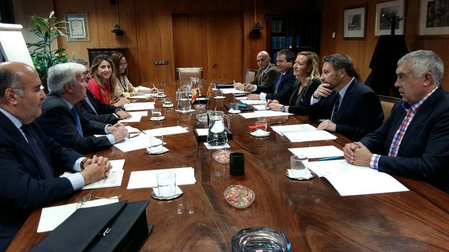 Reunión de la comisión mixta de seguimiento Aragón-Estado del Fondo de Inversiones de Teruel.