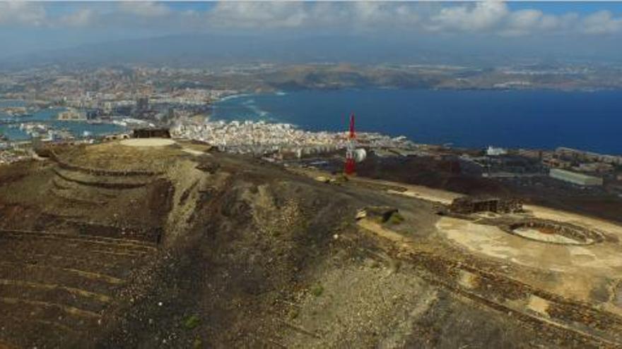 Montaña de El Vigía en La Isleta