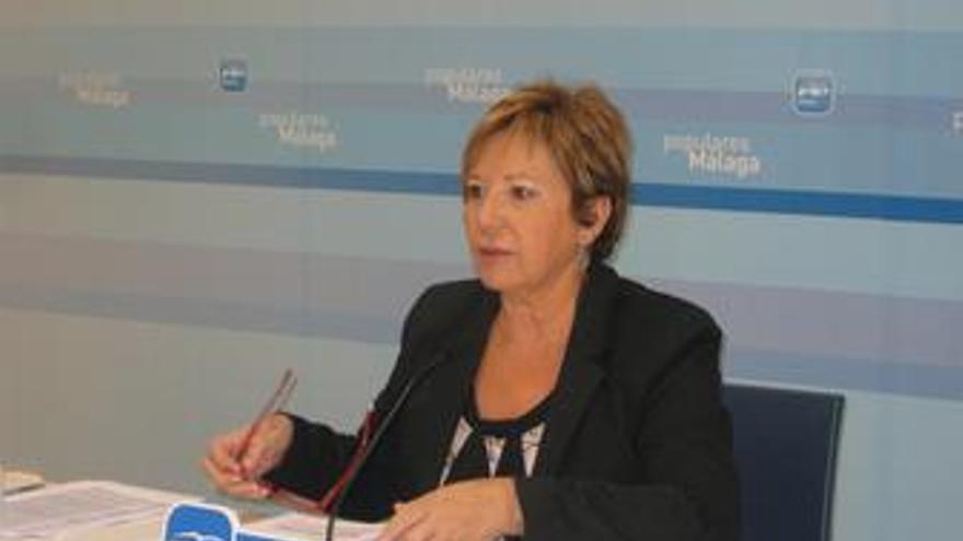 Diputada nacional del PP Celia Villalobos