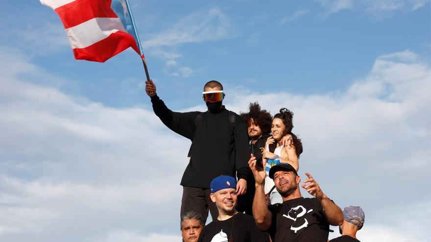 Cantantes puertorriqueños, a la cabecera de la revolución