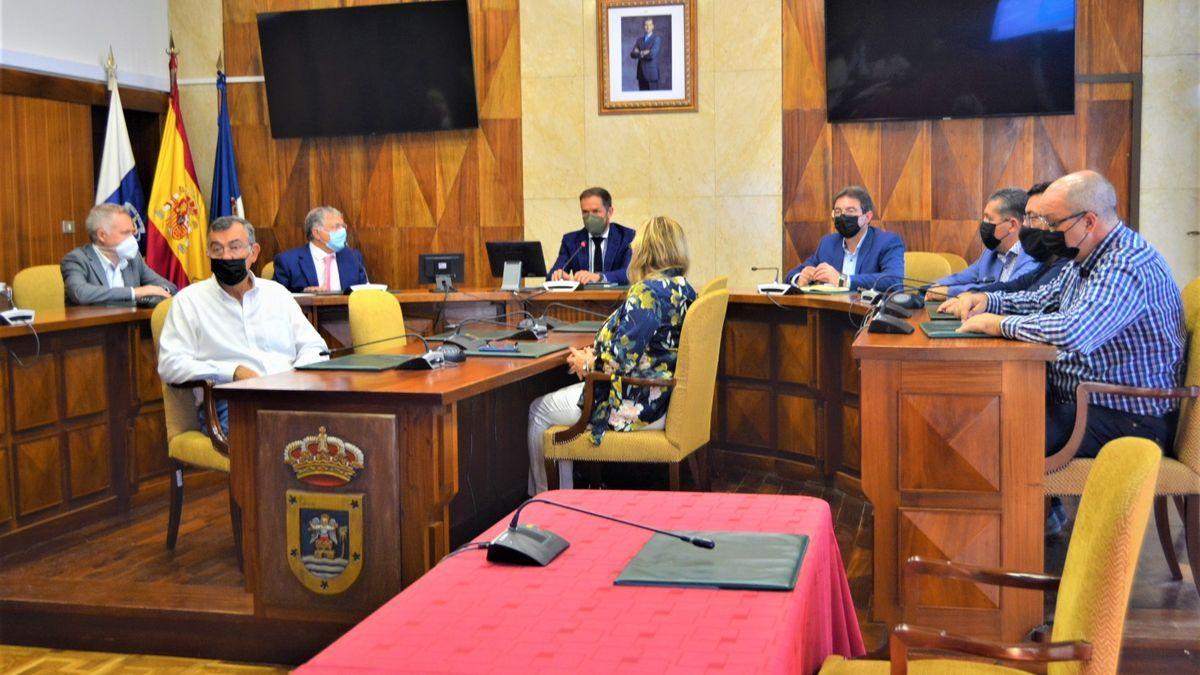 Presentación del Plan Director de Infraestructuras del Puerto de Santa Cruz de La Palma.
