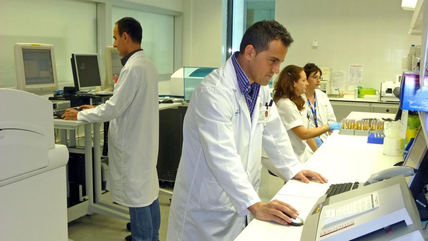 Laboratorio del Hospital de Almansa (Albacete)