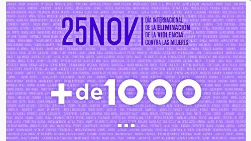 La campaña de la Junta quiere recordar que hasta la fecha han sido 1.027 las mujeres asesinadas en España desde el año 2003