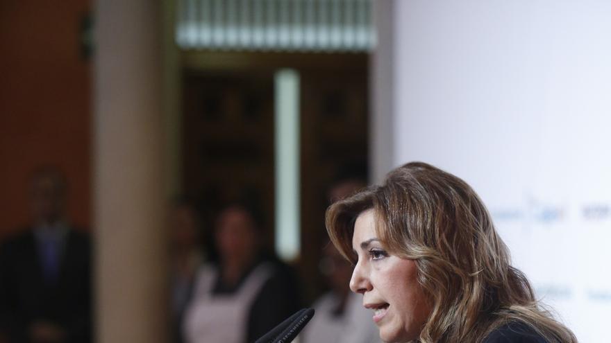 """Susana Díaz promete evitar """"mal uso"""" de fondos públicos y ofrece al PP-A acuerdos de concertación social"""