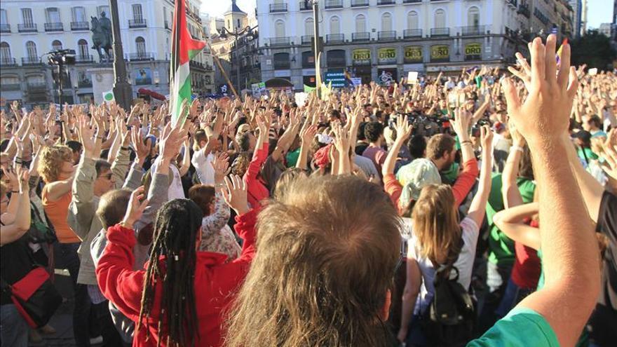 Madrid tuvo hasta mayo 1.628 manifestaciones,el doble que el mismo tramo de 2012