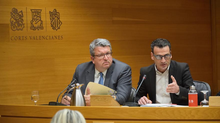 Alfred Costa, candidato propuesto por el Consell Rector para dirigir À Punt, en las Corts Valencianes.