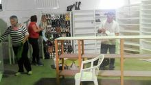 En la imagen varios colaboradores de La Lonja. Foto: Ayuntamiento de Tazacorte.
