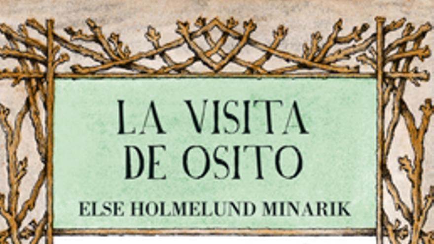 Portada de 'La visita de Osito'. Editorial Kalandraka.