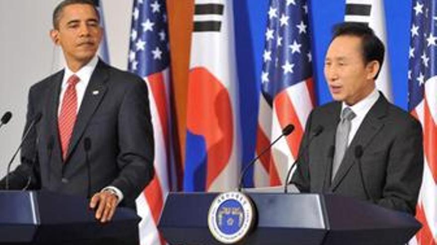 Obama y Lee presionan a Corea del Norte para que vuelva a las negociaciones