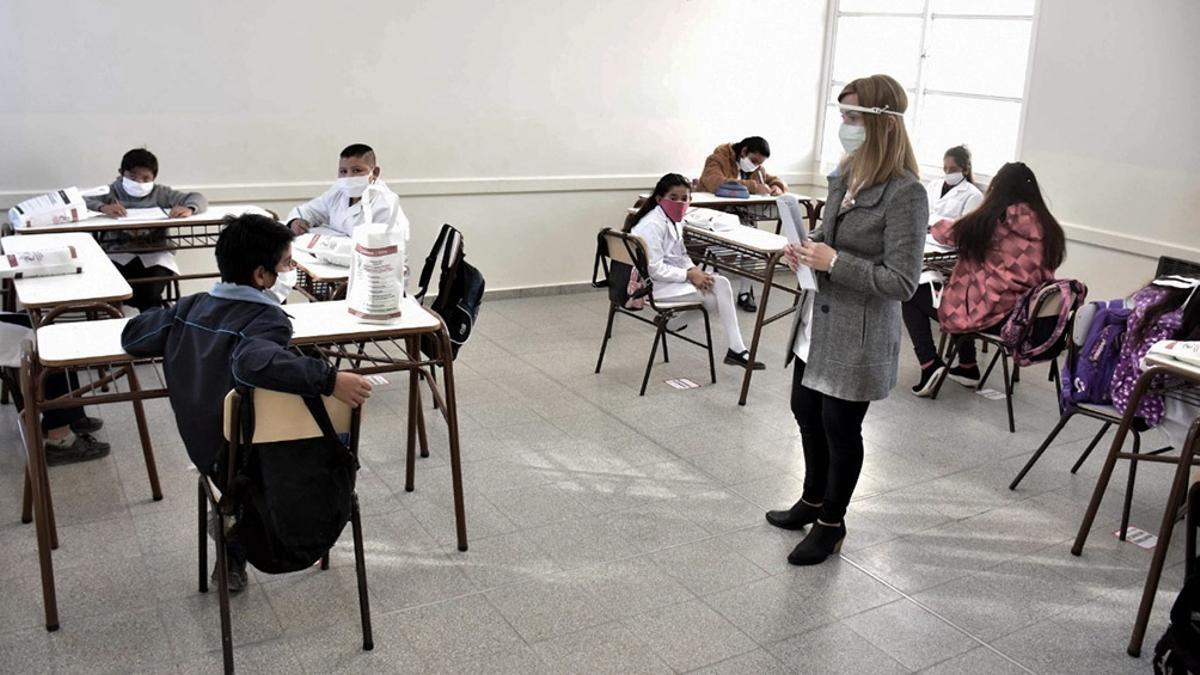 El lunes vuelven las clases presenciales en toda la provincia de Buenos Aires