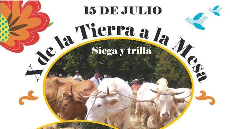 Programa de la tradicional siembra y trilla.