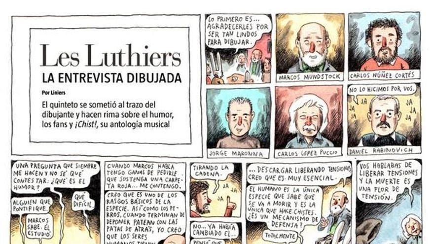 La entrevista que el dibujante Liniers compartió en Twitter al enterarse de la muerte de Daniel Rabinovich