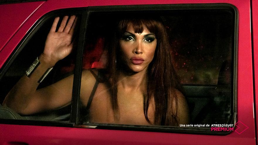Imagen oficial de Veneno, el biopic de Cristina Ortíz en ATRESplayer