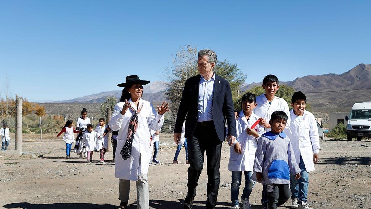 Macri, con la meta de instalarse como un defensor de la educación