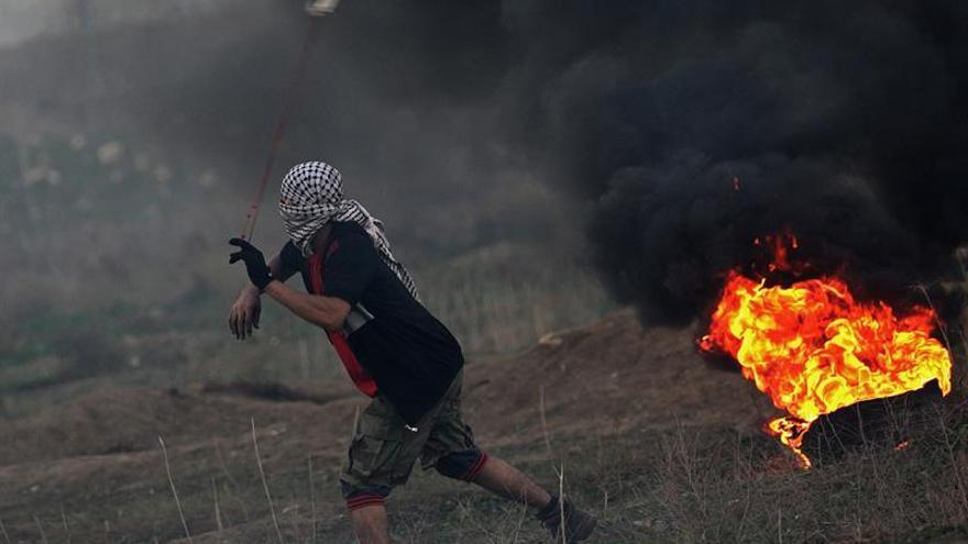 Muere un palestino en Gaza por heridas en enfrentamientos con el Ejército israelí