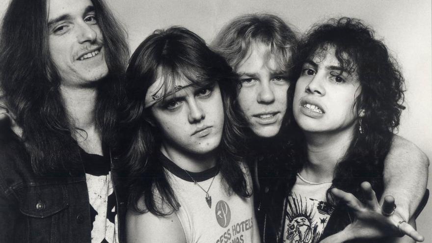 Metallica en 1986