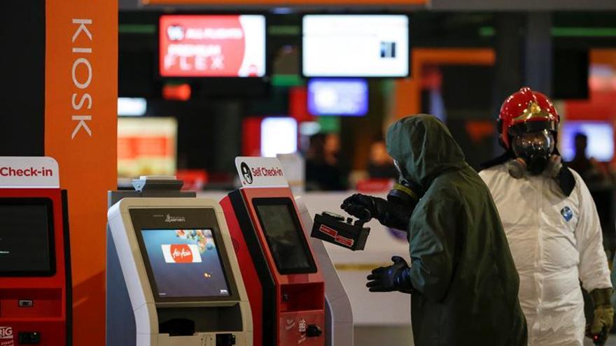 Declaran seguro el aeropuerto de Kuala Lumpur tras el uso del agente nervioso VX