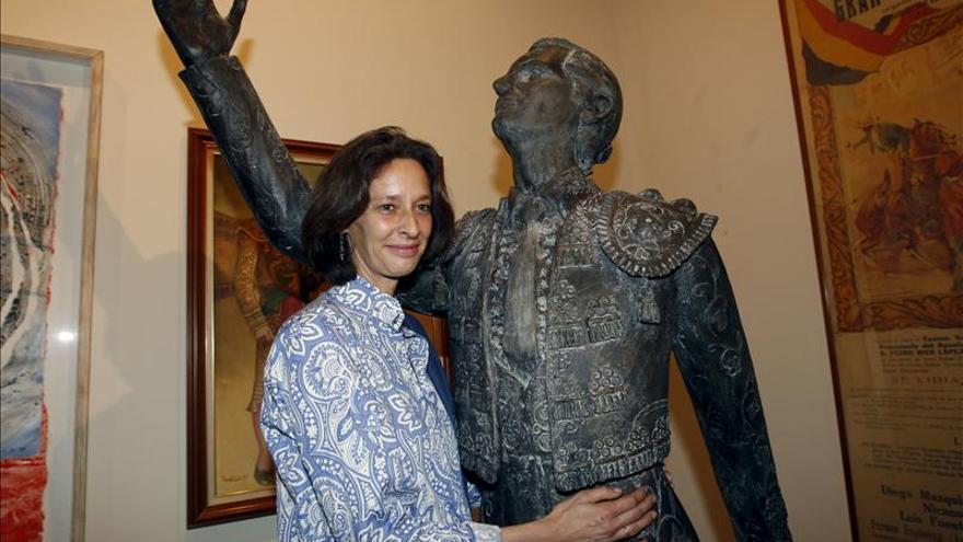 Luis Miguel Dominguín tendrá a partir de hoy una escultura en Las Ventas