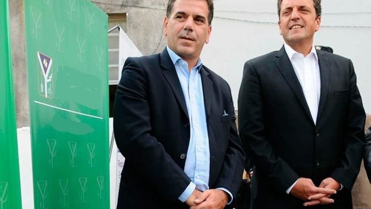 Ritondo (PRO) y Massa, en cortocircuito por las sesiones presenciales en Diputados.