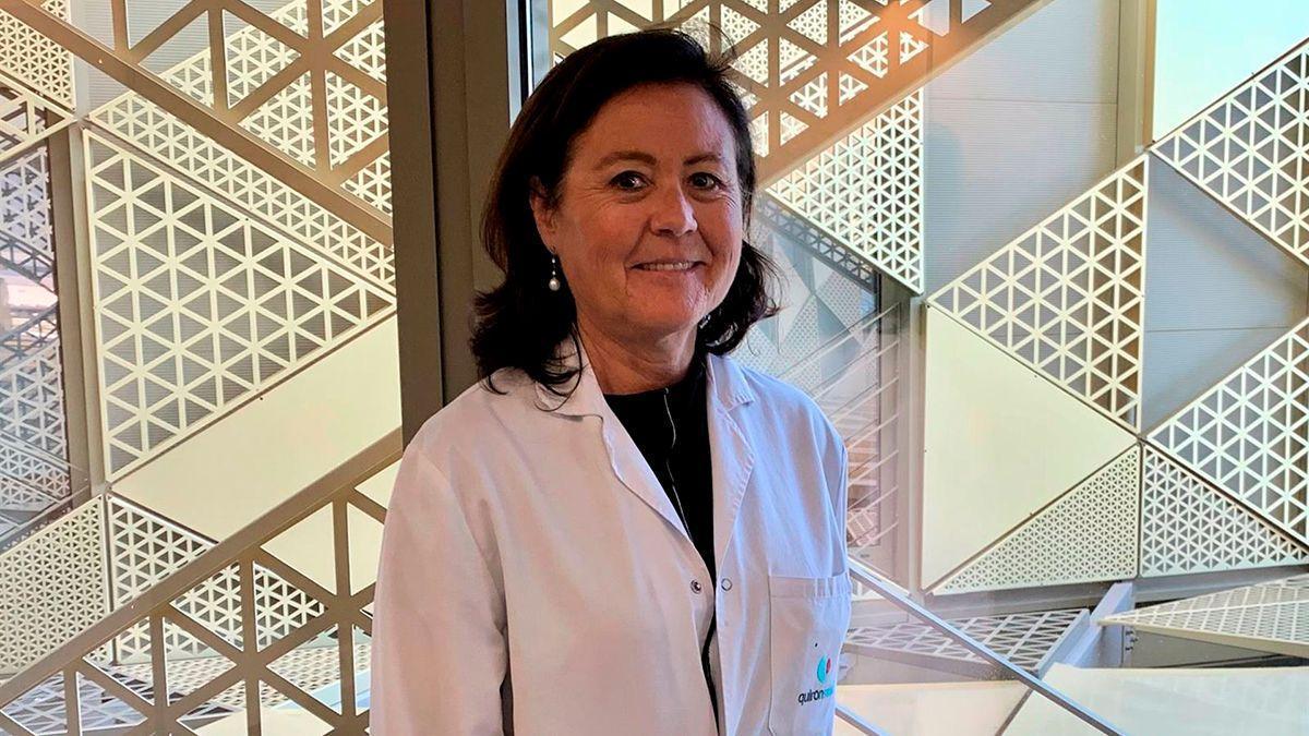 María Jesús Rubio, jefa de Oncología del Hospital Quirón de Córdoba.