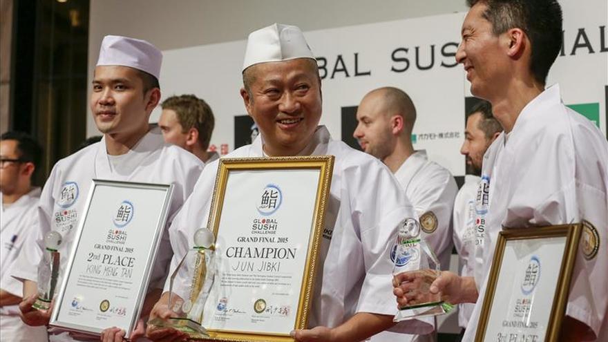 Japón se corona en la primera edición de un concurso internacional de sushi