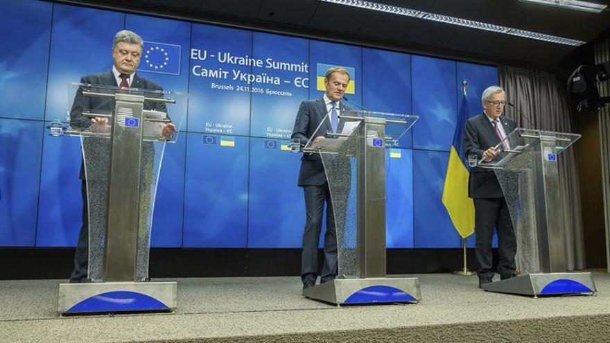 Ucrania y la UE celebran su primera cumbre con Acuerdo de Asociación ratificado