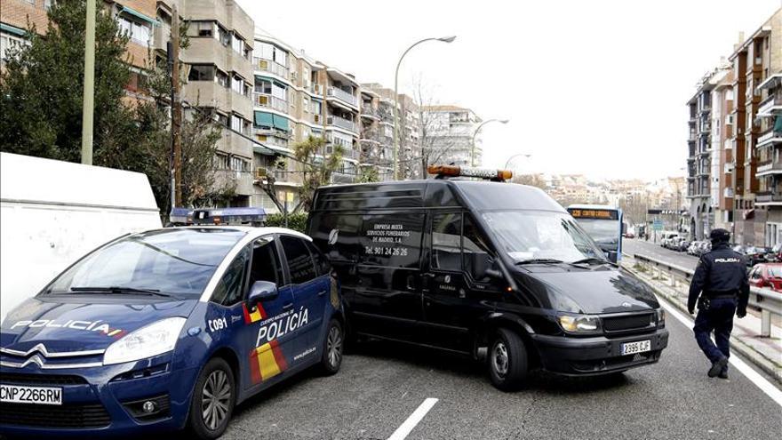 Prisión sin fianza para el acusado de matar a su pareja en Madrid el domingo