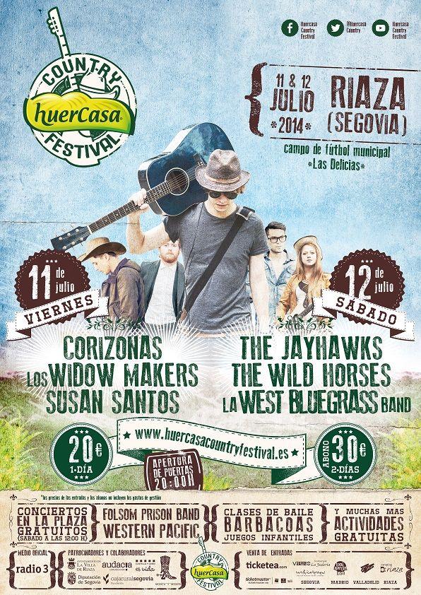 Cartel Huercasa Country Festival