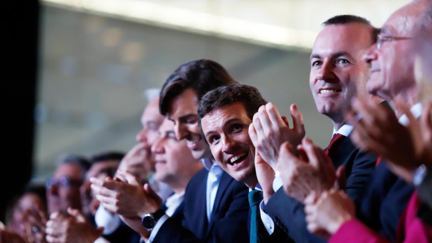 Casado busca mañana una demostración de fuerza en el cierre de campaña llenando el Palacio de Deportes de Madrid