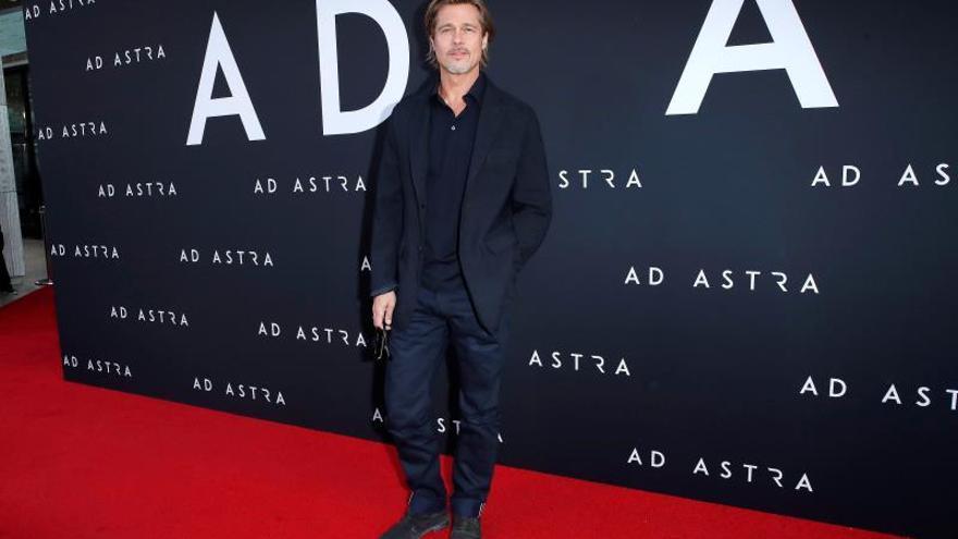 """Brad Pitt deslumbra en el estreno en Los Ángeles de """"Ad Astra"""""""