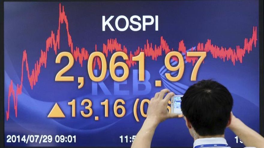 La Bolsa de Seúl abre con un avance del 0,28 por ciento