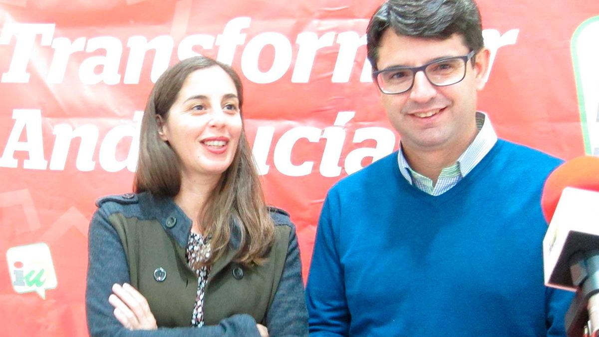 María José Liñán y Pedro García en una imagen de archivo.