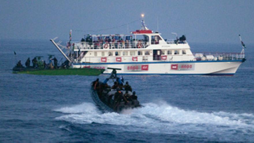 Israel ataca la flota solidaria con Gaza