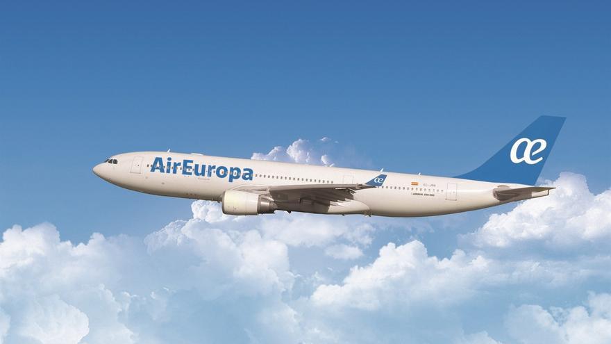 Avión de la aerolínea Air Europa, de Globalia