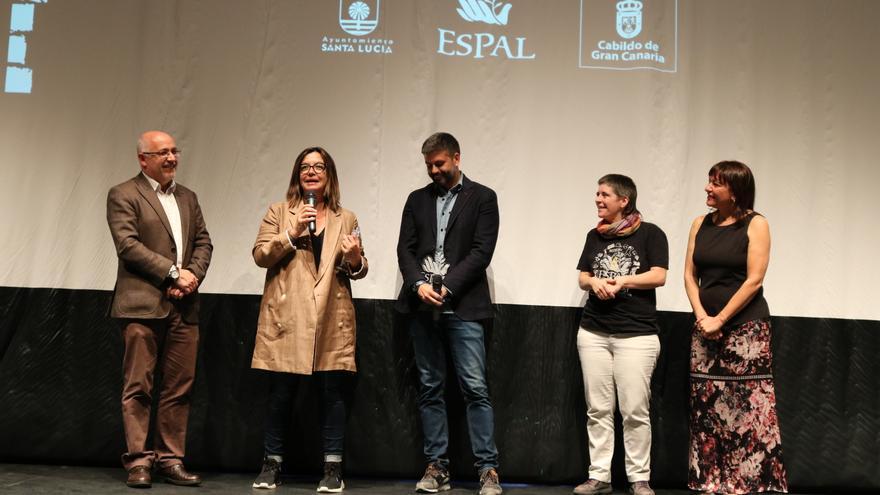 Antonio Morales, Ángels Barceló, Nicolás Castellano, Koldobi Velasco y Dunia González.