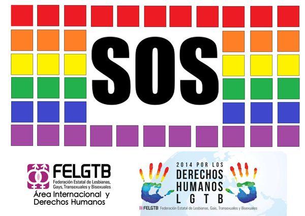 SOS derechos LGTB