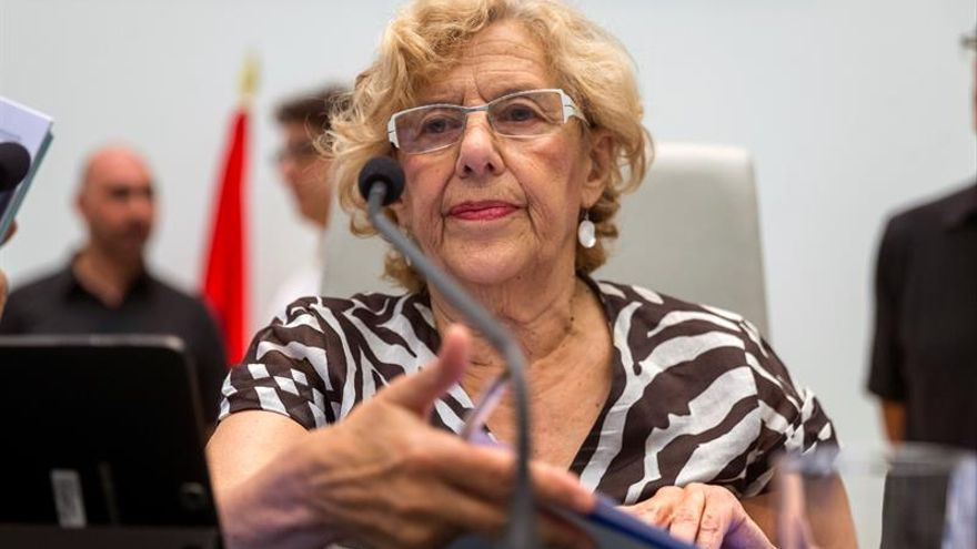 Carmena se desvincula del apoyo de Ahora Madrid de Moratalaz a Distrito 14