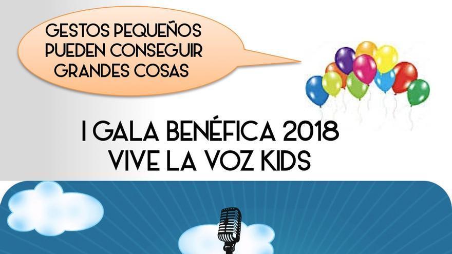Cartel de la gala benéfica de Alicante.