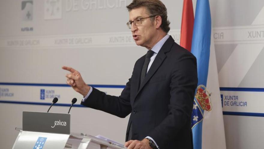Feijóo: Las elecciones no forman parte de la agenda de la Xunta, lo reitero