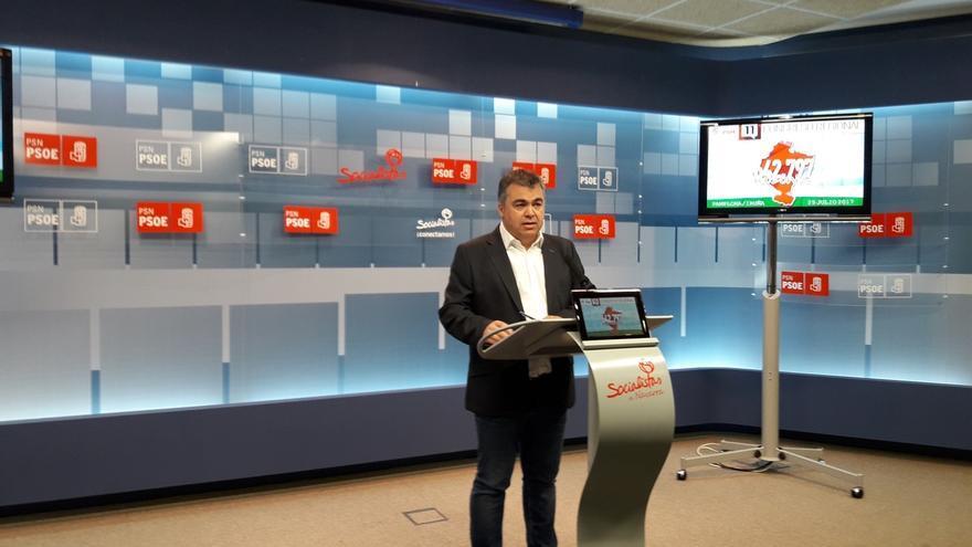 """El PSN se siente """"muy cómodo"""" con la España plurinacional que plantea el PSOE"""