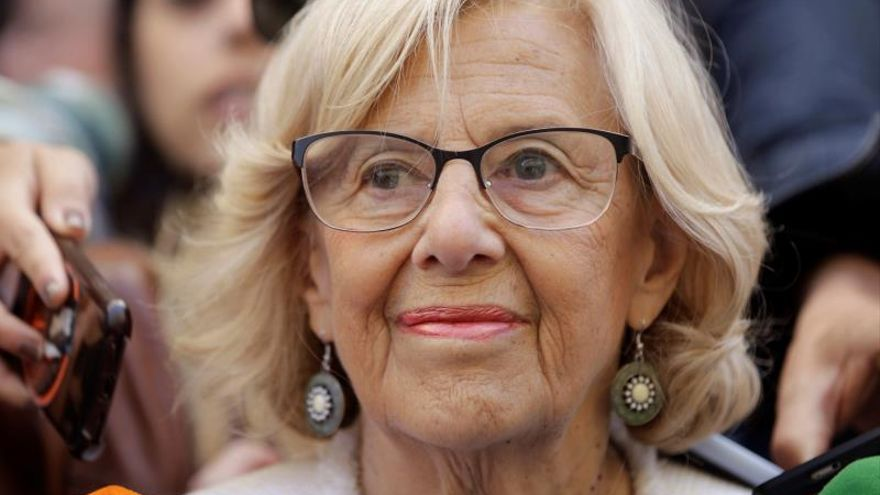 """Carmena asume que """"seguramente"""" habrá un pacto de derechas y no será alcaldesa"""