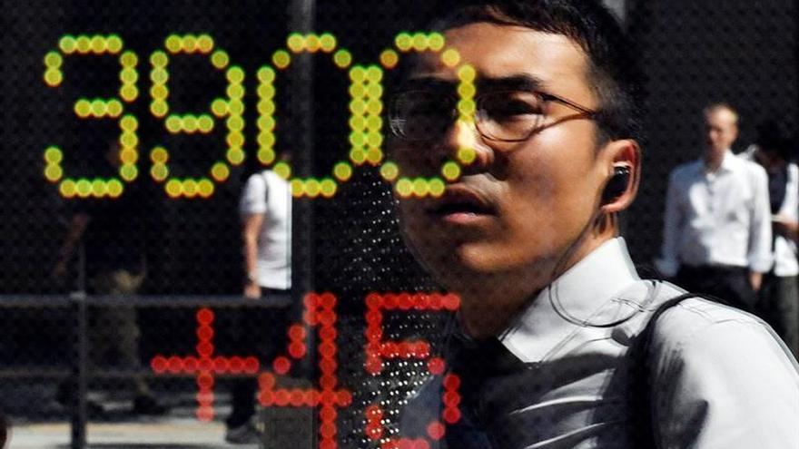 La Bolsa de Tokio abre con una caída del 0,13 % hasta los 20.336,25 puntos