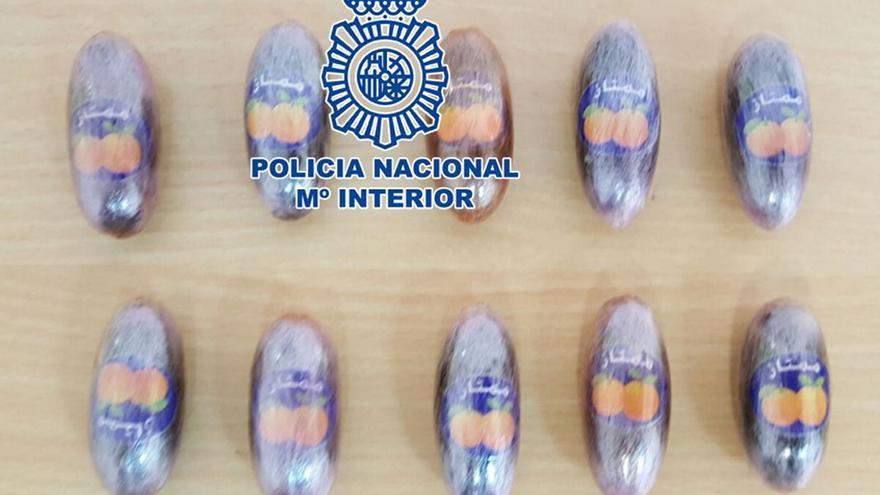 Hachís intervenido en las últimas operaciones policiales.